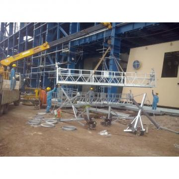 Plataforma de suspendida de aluminio  ZPL 630