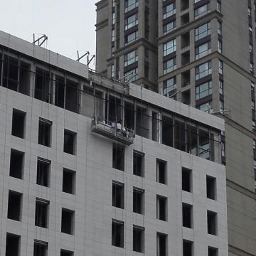 Aluminio ZLP630 andamios colgantes para limpieza de ventanas