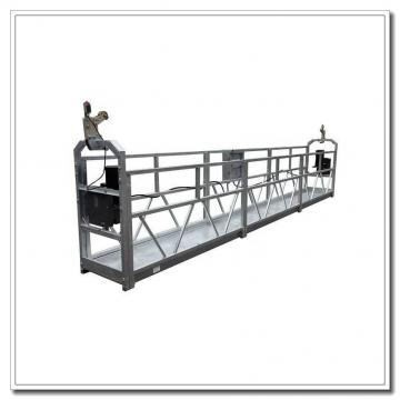 Andamio colgante de aluminio ZLP630 de 6 metros para mantenimiento de edificios